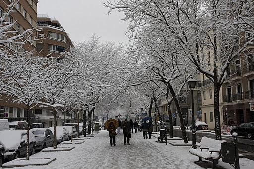 Nieve y heladas: obligaciones de limpieza de las comunidades