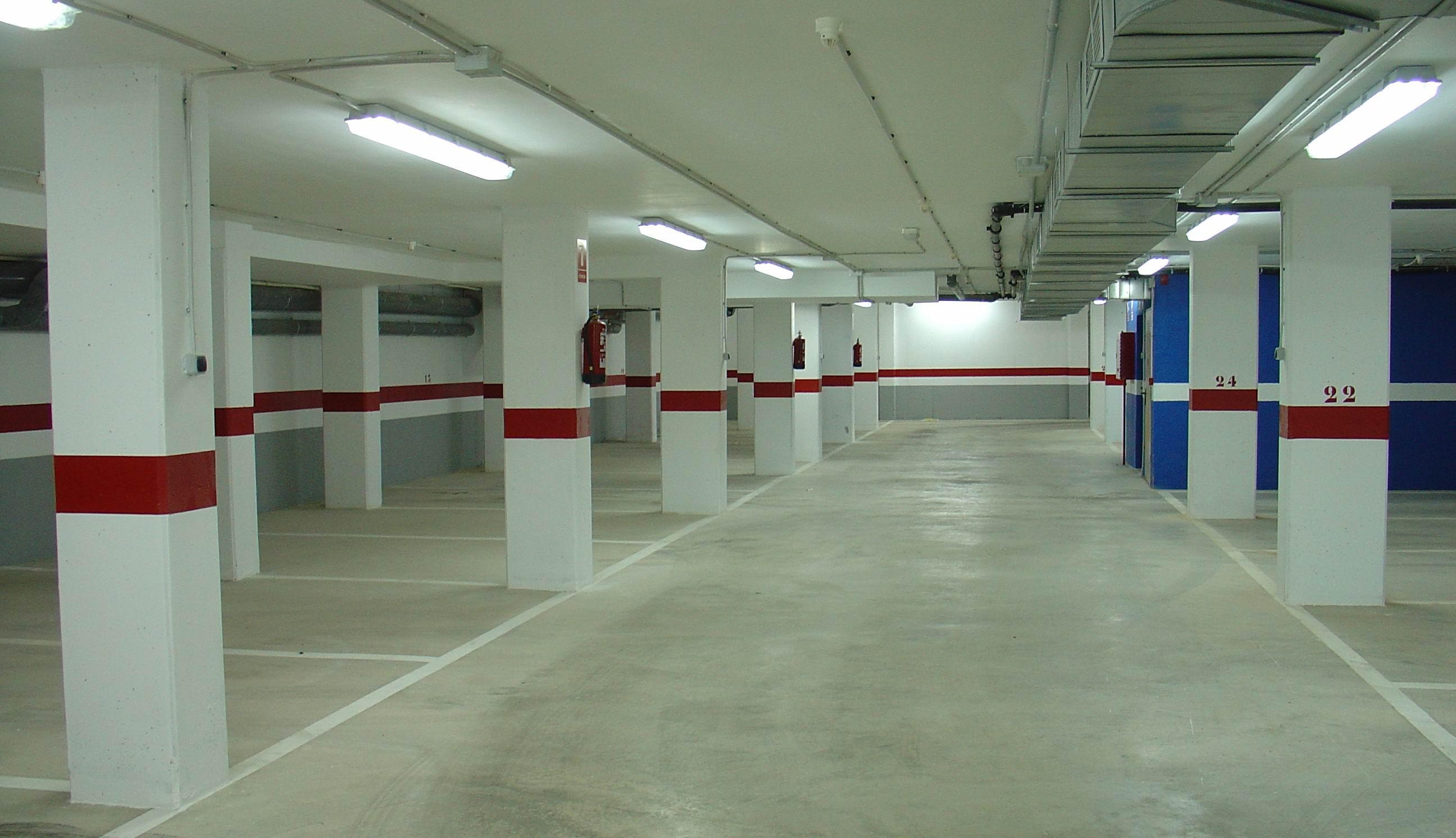 Estacionamiento de mas de un vehiculo por plaza de aparcamiento